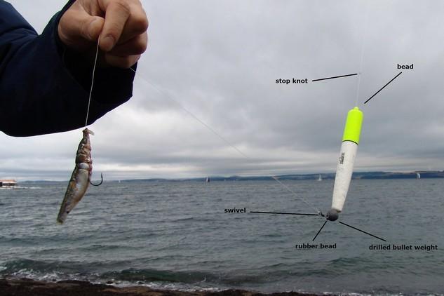 Hook Sea Fishing Float Kit   Extra Large  Weight